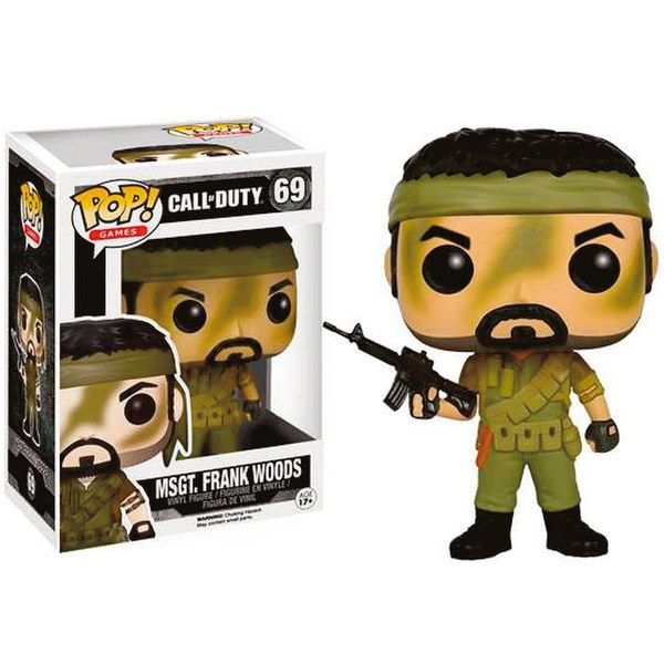 Call of Duty MSgt. Frank Woods Pop! Vinyl Figure