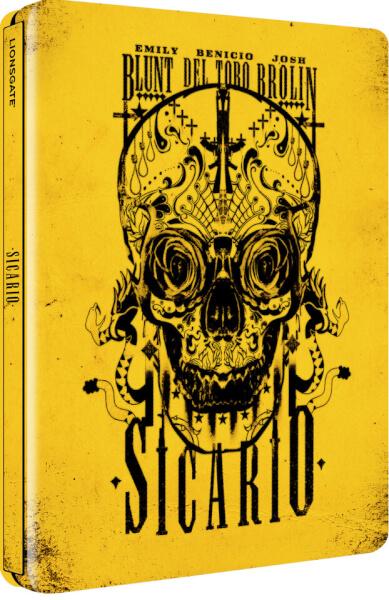 Sicario - Limited Edtion Steelbook (UK EDITION)