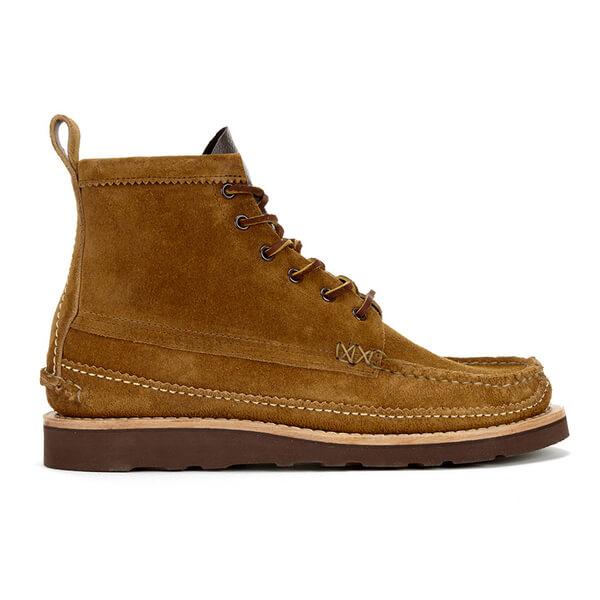 Yuketen Men's Maine Guide 6 Eye DB Boots - Brown