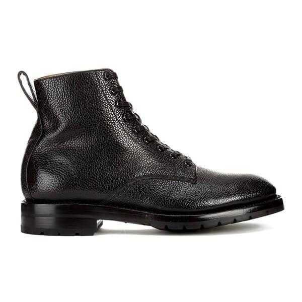 Yuketen Men's Eric Leather Lace-Up Boots - Black