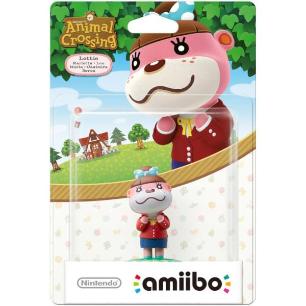 Lottie Amiibo Animal Crossing Collection Nintendo Official Uk Store