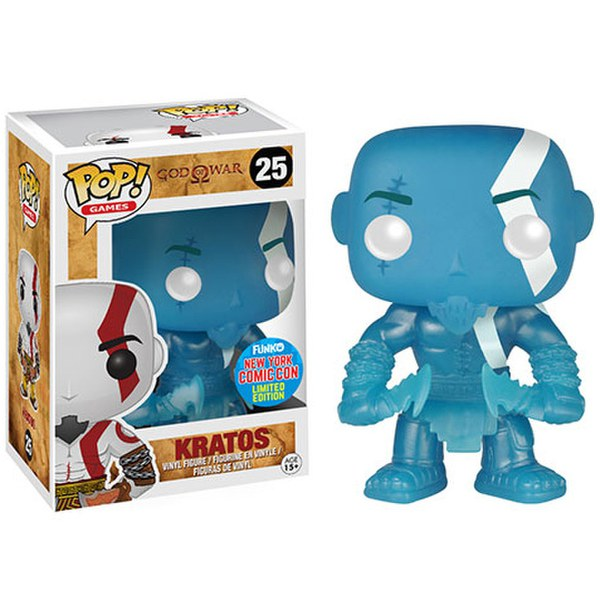 NYCC God of War Kratos Poseidon Rage Exclusive Pop! Vinyl Figure