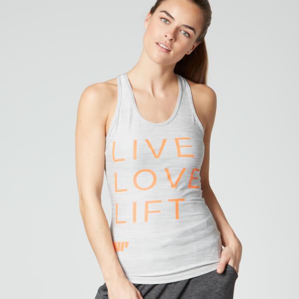 Myprotein Women's Performance Slogan Vest - Grey
