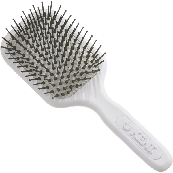 Brosse à cheveux avec coussinet pour cheveux normaux à finsAirHeadz AH9W Kent-Blanche