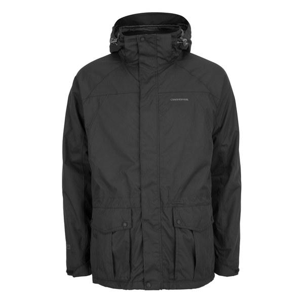 Craghoppers Men's Kiwi 3 in 1 Waterproof Jacket - Black