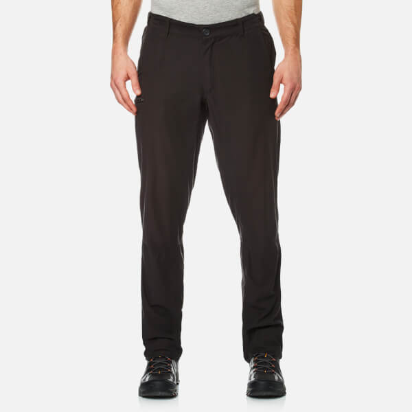 Craghoppers Men's Kiwi Trek Water Repellent Trousers - Black Pepper