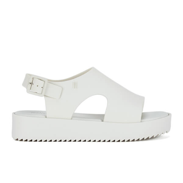 Melissa Women's Hotness Flatform Sandals - White