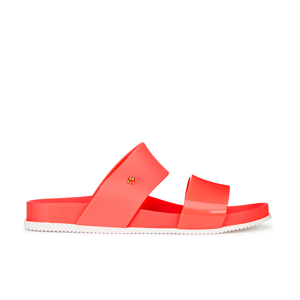 Melissa Women's Cosmic 15 Double Strap Slide Sandals - Coral