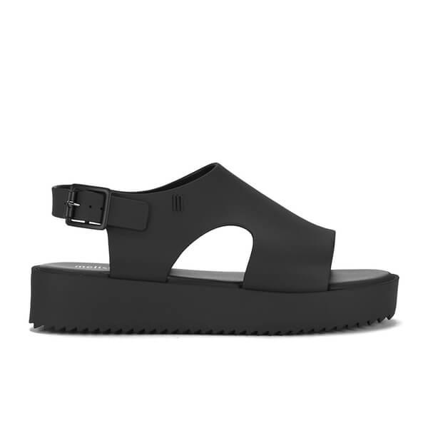 e01f921591 Melissa Women's Hotness Flatform Sandals - Black | FREE UK Delivery ...