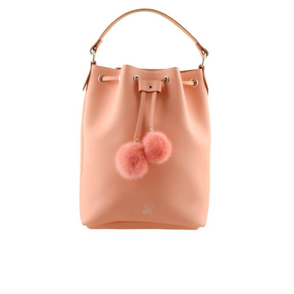 Grafea Women's Cherie Bucket Bag - Peach