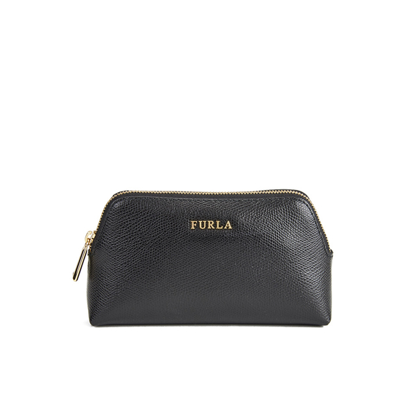 zipped pouch - Black Furla