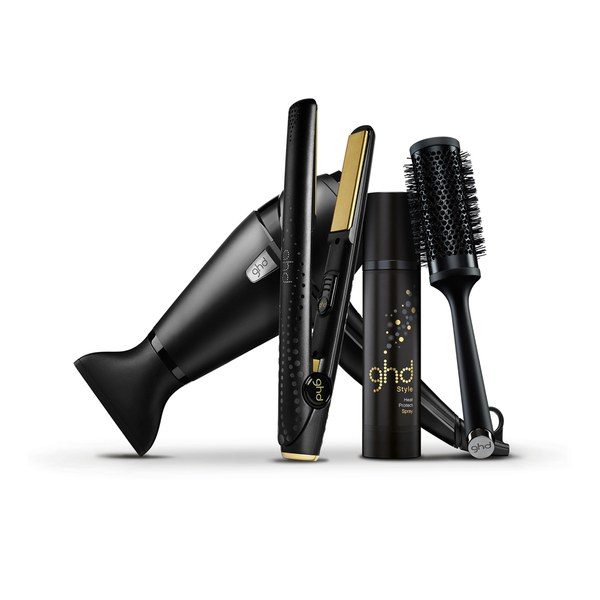 Kit Plancha ghd V Gold Series Classic y Secador ghd Air Ultimate Styling