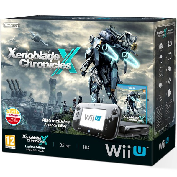 Wii U 32GB Premium Console - Includes Xenoblade Chronicles + Exclusive World Map