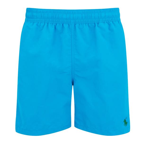 Polo Ralph Lauren Men\u0027s Hawaiian Swim Shorts - Caribbean Blue: Image 1