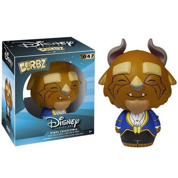 Disney Beauty And The Beast Beast Dorbz Action Figure
