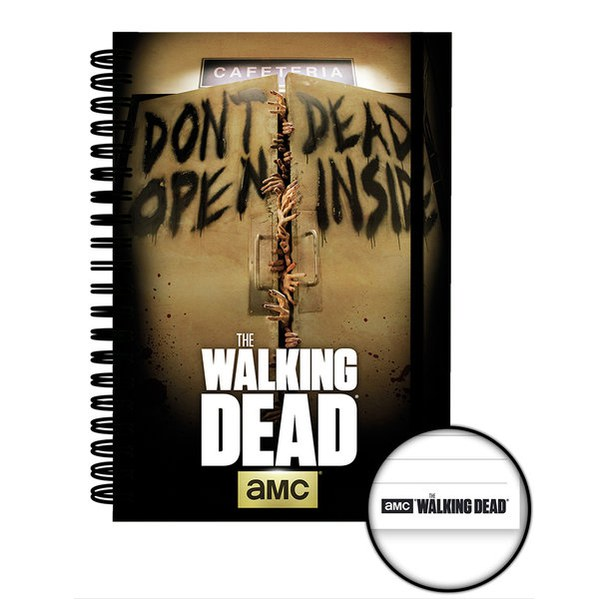 The Walking Dead Dead Inside - A5 Notebook