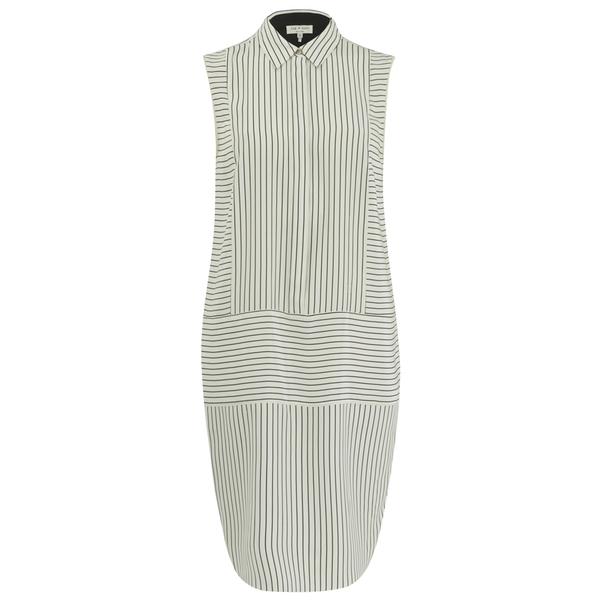 rag & bone Women's Virginia Dress - Black/White Stripe
