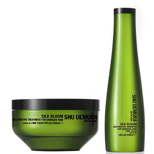 Shu Uemura Art of Hair Silk Bloom Shampoo (300ml) and Treatment(200ml)
