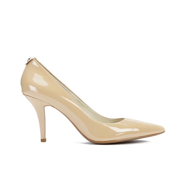 b682eed5134c MICHAEL MICHAEL KORS Women s MK-Flex Mid Pump Patent Court Shoes - Nude   Image