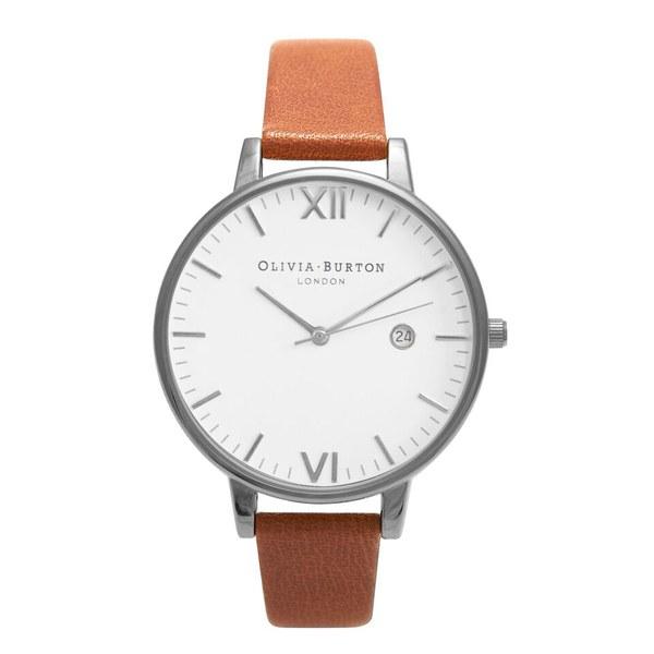 Olivia Burton Women's Timeless Watch - Tan/Silver