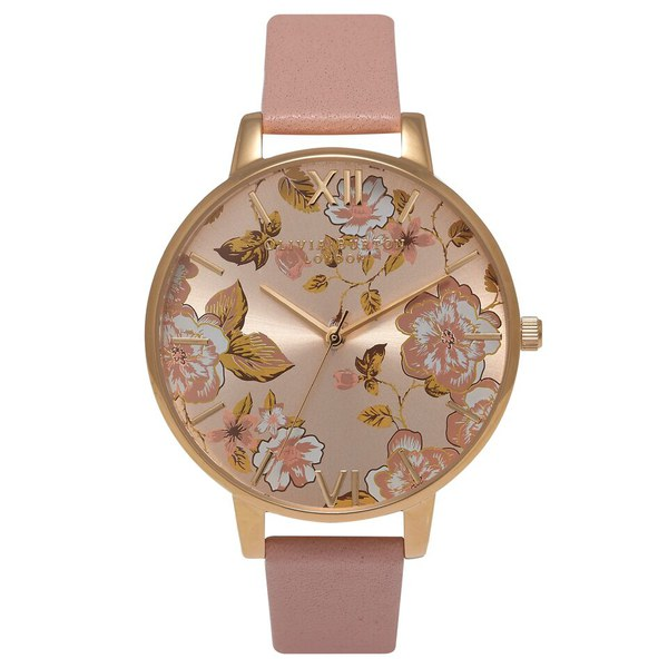 0d8bd1355f199 Olivia Burton Women s Parlour Watch - Dusty Pink Gold  Image 1