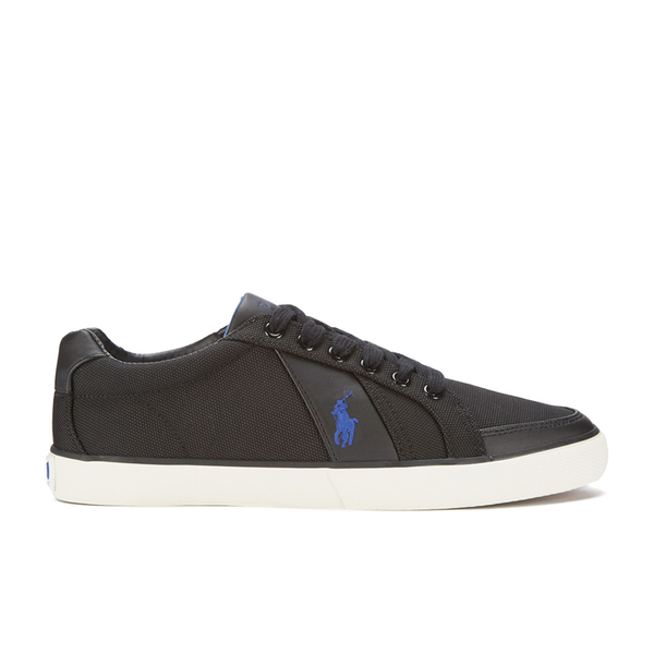 Polo Ralph Lauren Men's Hugh-Ne Trainers - Black: Image 1