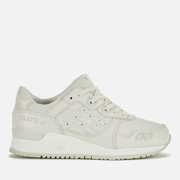 promo code 3a3dc cbfed Asics Lifestyle Gel-Lyte III Trainers - Off White/Off White ...