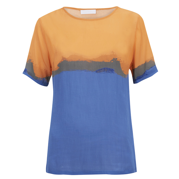 2NDDAY Women's Rothko Printed Top - Bright Cobalt