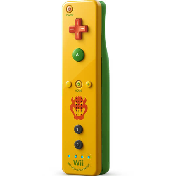 wii remote plus bowser nintendo official uk store. Black Bedroom Furniture Sets. Home Design Ideas