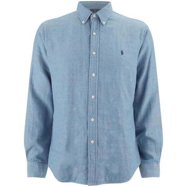 Polo Ralph Lauren Men's Chambray Shirt - Blue