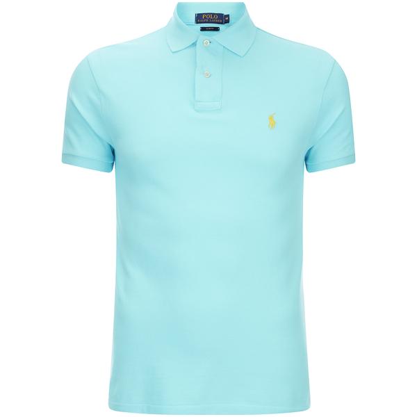 Polo Ralph Lauren Men's Short Sleeve Slim Fit Polo Shirt - Hammond Blue