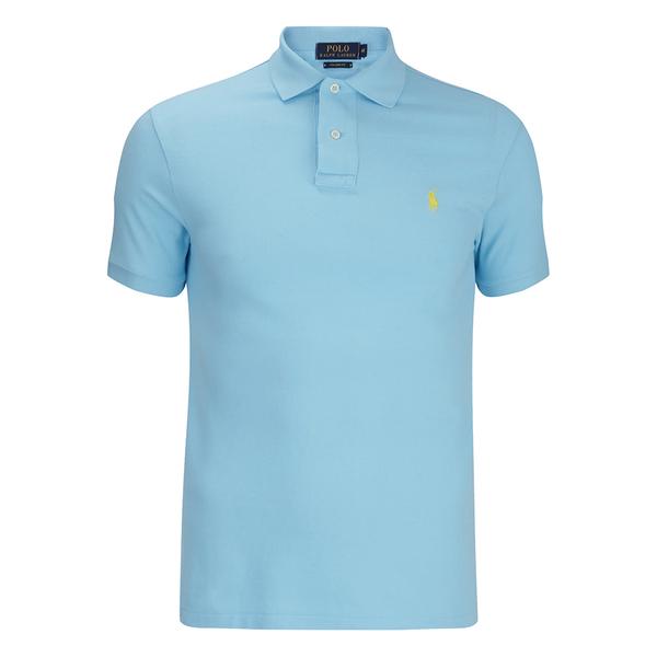 Polo Ralph Lauren Men's Short Sleeve Custom Fit Polo Shirt - Hammond Blue