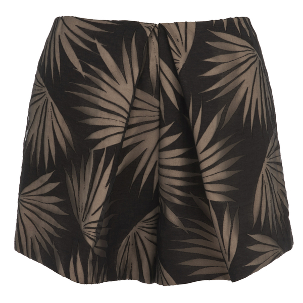 Finders Keepers Women's Sound Resound Shorts - Black Palm