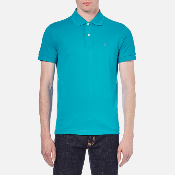 BOSS Green Men's C-Firenze-Logo Polo Shirt - Blue