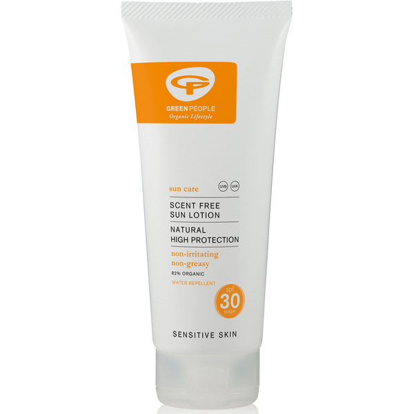 Green People Scent Free Sun润肤露SPF30(200ml)