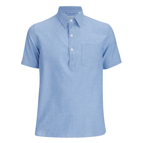 Arpenteur Men's Ete Polo Shirt - Blue Pique