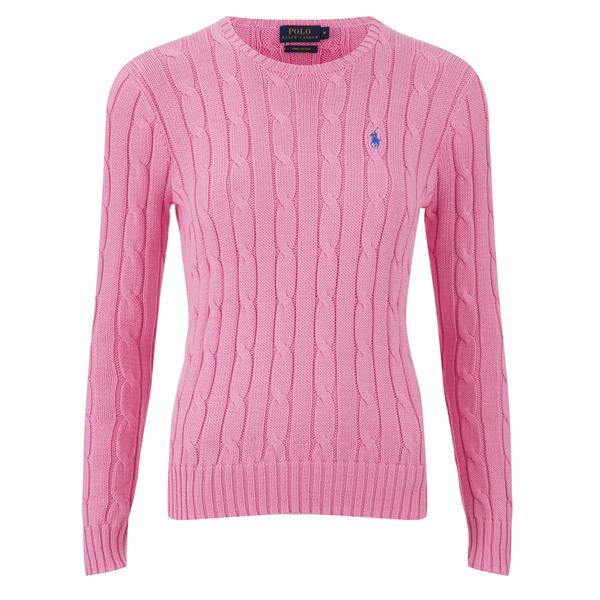 Polo Ralph Lauren Women\u0027s Julianna Jumper - Pink Flamingo: Image 1