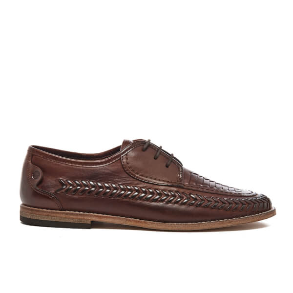 H Shoes by Hudson Men's Anfa Leather Shoes - Cognac