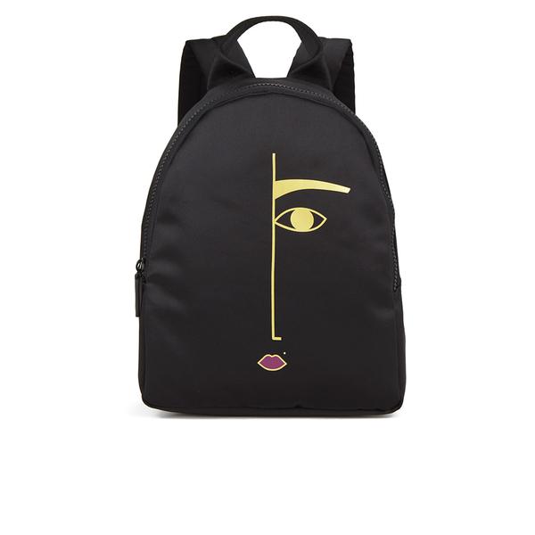 Lulu Guinness Women's Dora Backpack - Black