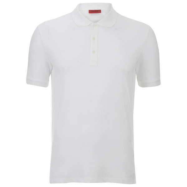 HUGO Men's Nono Plain Polo Shirt - White
