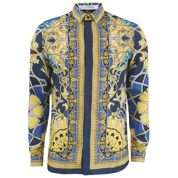 Blue Versace Shirt