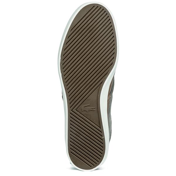 84c34b0a0245d9 Lacoste Men s Sevrin 2 LCR Suede Deck Shoes - Grey  Image 3