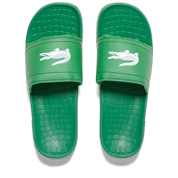 Lacoste Men's Frasier Slide Sandals - Green