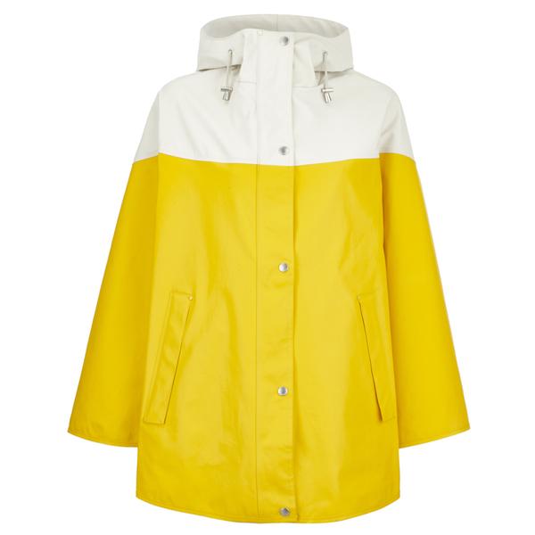 Ilse Jacobsen Women's Contrast Cape - Cyber Yellow