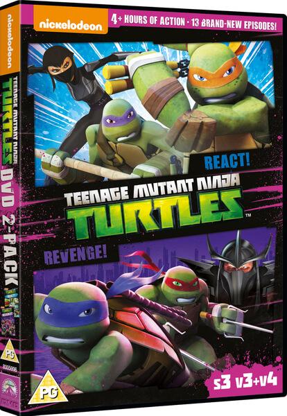 Teenage Mutant Ninja Turtles React Amp Revenge S3 V3
