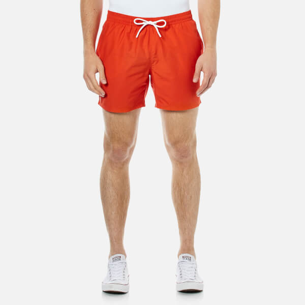 Lacoste Men's Classic Swim Shorts - Etna Red