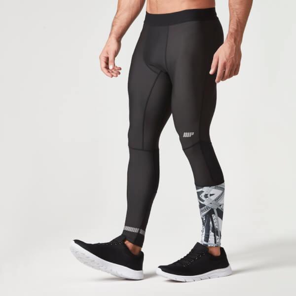 achetez des leggings d 39 entrainement pour hommes noir. Black Bedroom Furniture Sets. Home Design Ideas