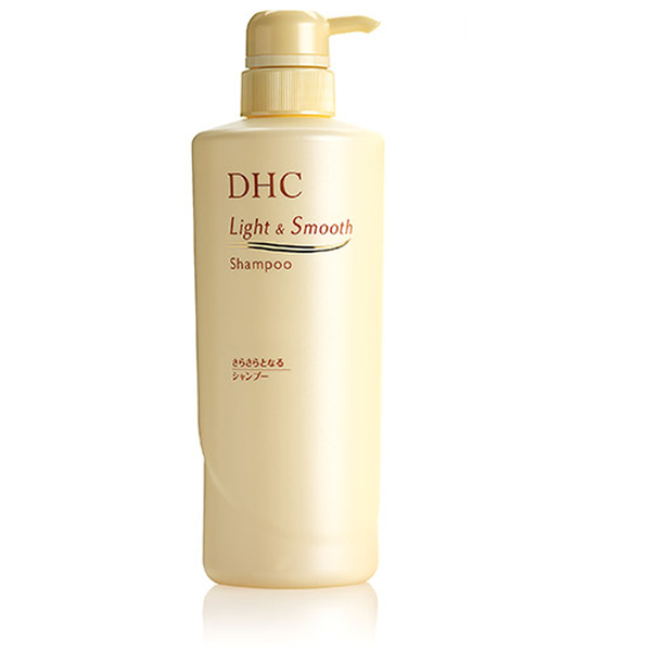 DHC Light and Smooth Shampoo (550ml)