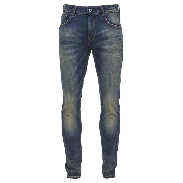 Scotch & Soda Men's Skim Worn Denim Jeans - Hocus Pocus