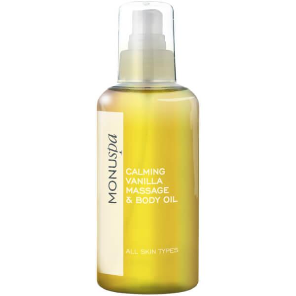 MONUspa Calming Vanilla Bath and Body Oil 100ml